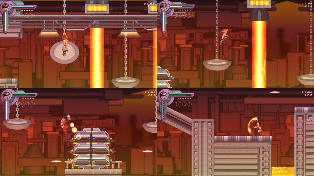 Jet Dancer Game - Hot Factory Level by Dualmask