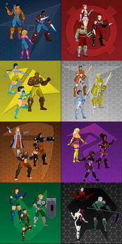 WCL Character Sprites