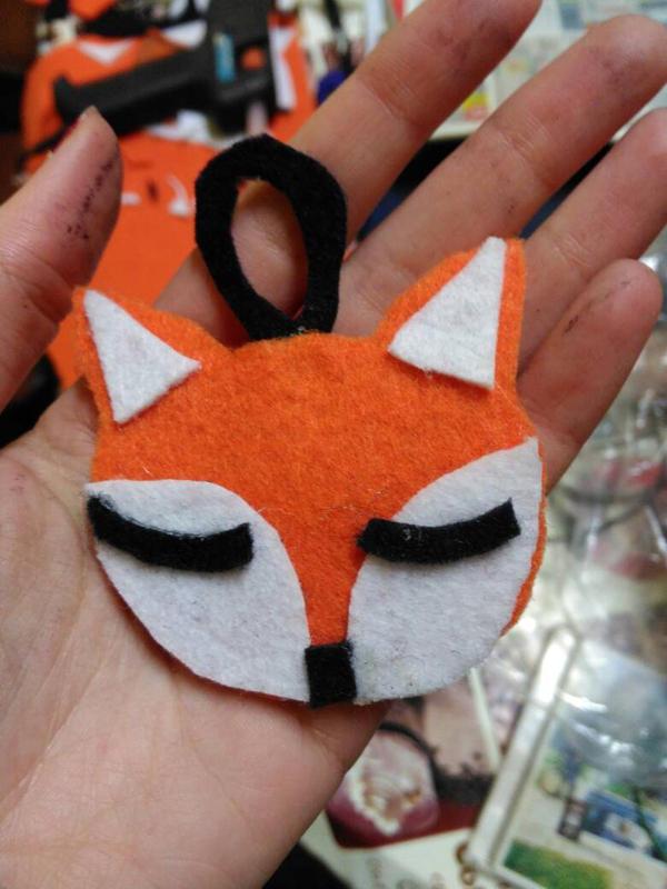 Felt Fox by Vermilionm