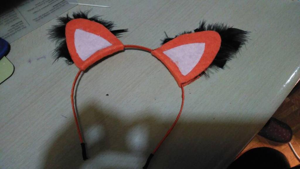 Fox headband by Vermilionm