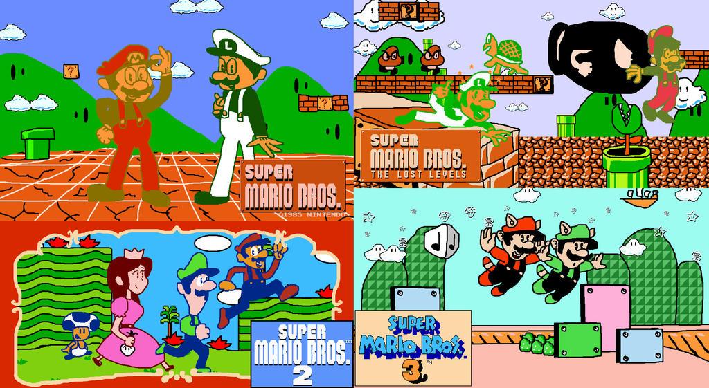 Super Mario All Stars Super Mario World Snes Descargar