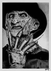 A nightmare on Elm Street - Freddy Krueger by Dennymiaoz