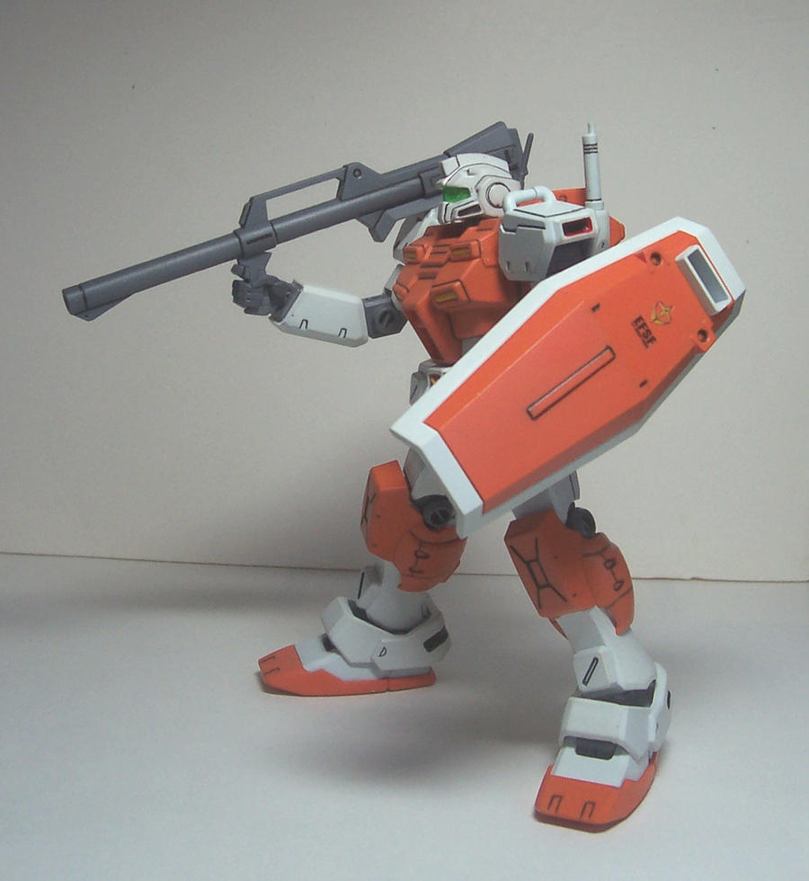1/144 HGUC RGM-79C GM Powered Shield by HDorsettcase