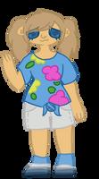 My Character in Pokemon Moon