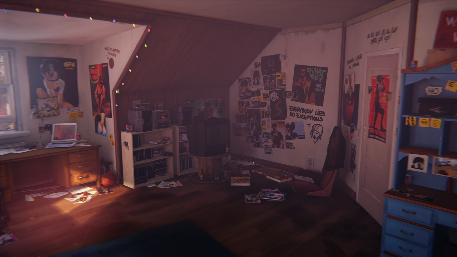 Where To Hide In Chloe S Room Life Is Strange