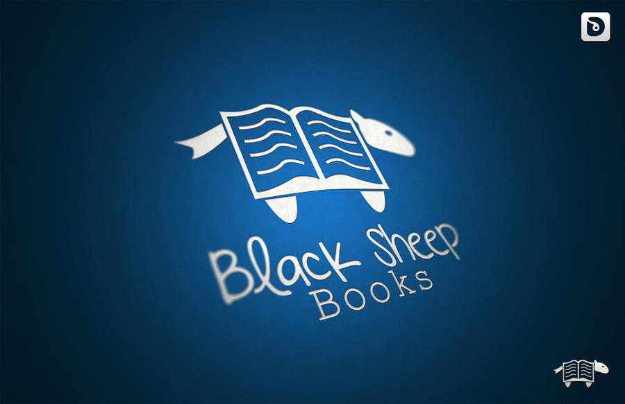 Black Sheep Books (Logo) by Dekloz