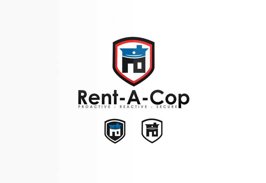Rent Logo Rent-A-Cop  Logo  by Dekloz