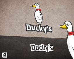 Ducky's (Logo) by Dekloz