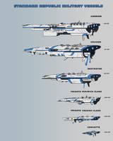 Republic Fleet Ships by goeliath