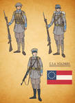 Alternate History Confederate Soldier