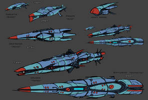 Imperial Fleet Sketches