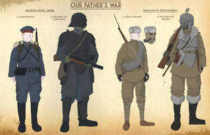 Our Fathers War Faction sheet 3 by goeliath