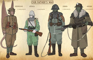 Our Fathers War Faction sheet 6 by goeliath