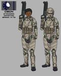 Confederate M-73 Armor