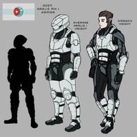 Azen Empire Arelis I Armor by goeliath