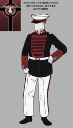 Federation Universal Dress Uniform by goeliath