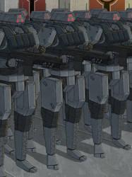 Terran Military Droids
