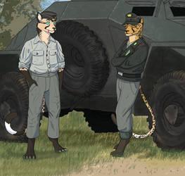 The Pussywagon Sd Kfz 222