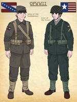 OFWWII Uniform Concepts: Caernia