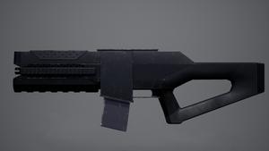 Terran Assault Rifle Model