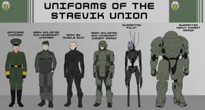 Staevik Uniform Lineup