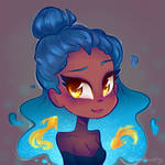 Draw This In Your Style! - Destiny Blue Redraw by SilverSweety