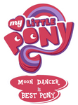 My Little Pony: Moon Dancer Is Best Pony Vector