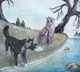 Winter story ( collab with Oonakani)