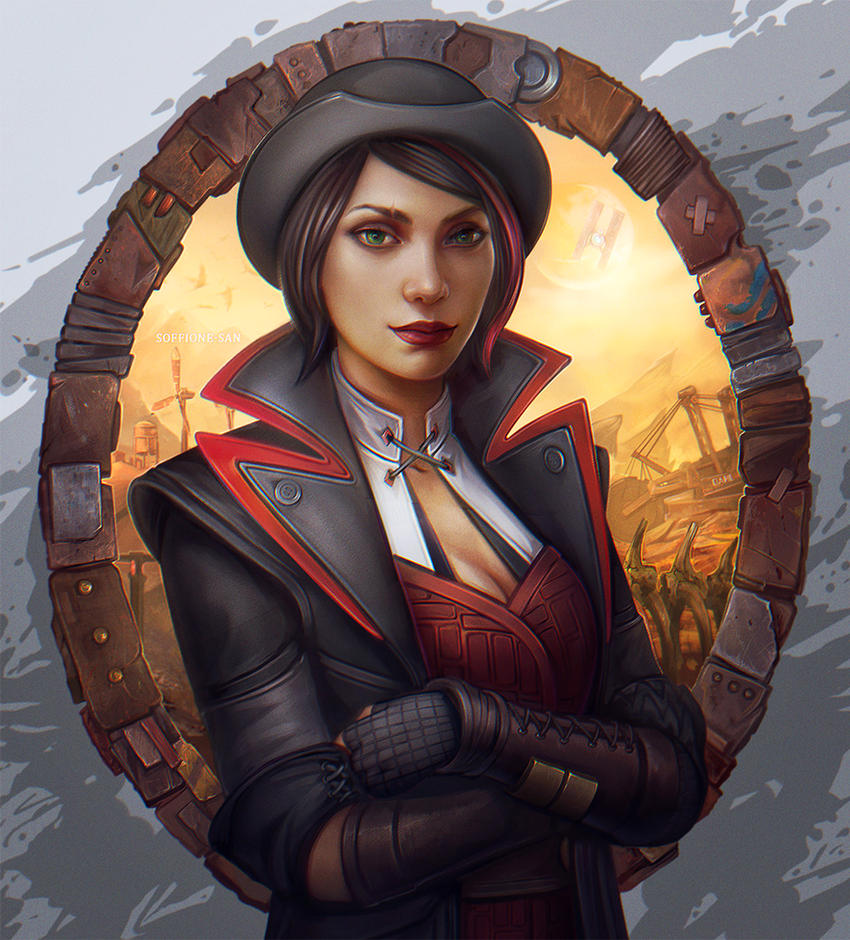 Tales from the borderlands by dandelion s on deviantart for Painting games com