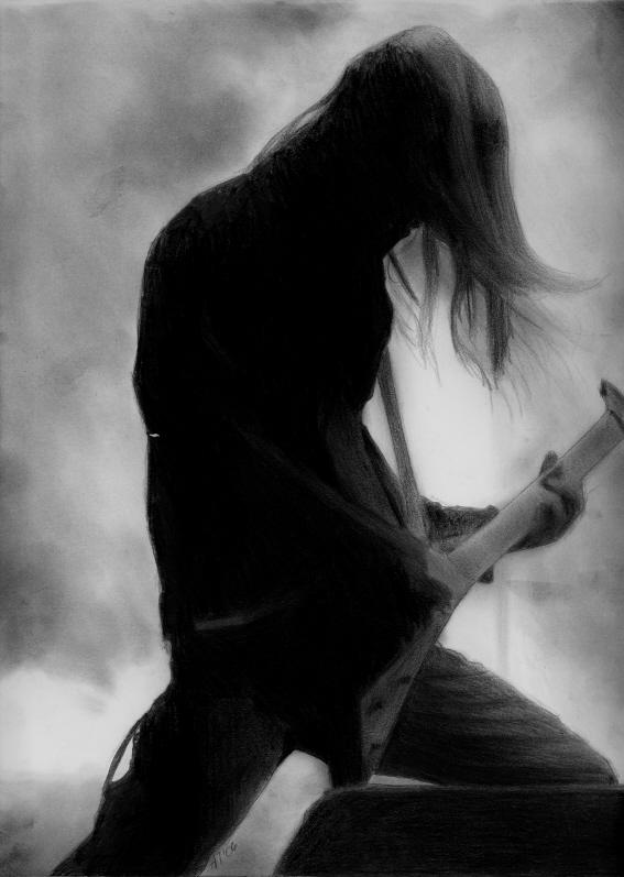 He's So Black Metal...
