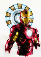 Iron Man I by butterflycell
