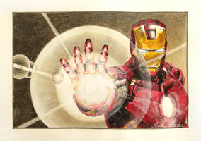 Iron Man II by butterflycell