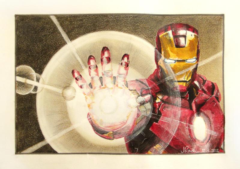 Iron Man II by butterflycell