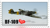 Messerschmitt BF-109 Stamp V1 by TheAngryFishbed