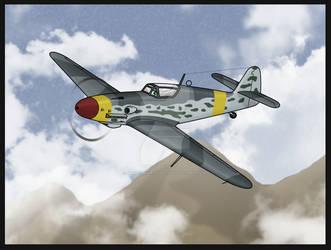 Veera- Bf-109G-10 by SergeanTrooper