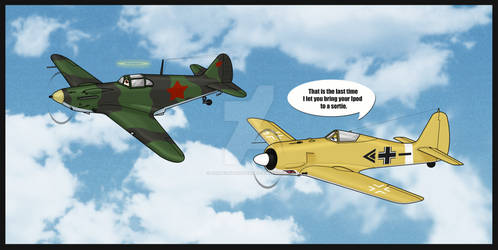 Banana Plane :D by SergeanTrooper