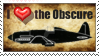 Stamp: Obsure Aircraft Lover by SergeanTrooper
