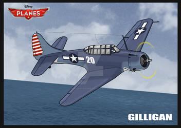 Planes OC: Gilligan by SergeanTrooper