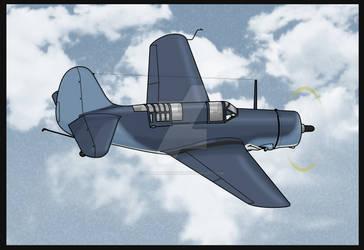 Rogue: Hugo: SB2C Helldiver by SergeanTrooper