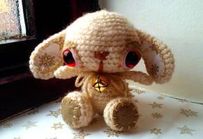 bella - crochet bunny by tiny-tea-party