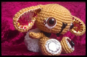 beckett - crochet bunny .