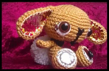 beckett - crochet bunny . by tiny-tea-party