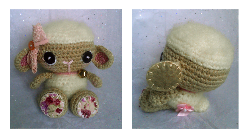 lolita - lamb amigurumi . by tiny-tea-party