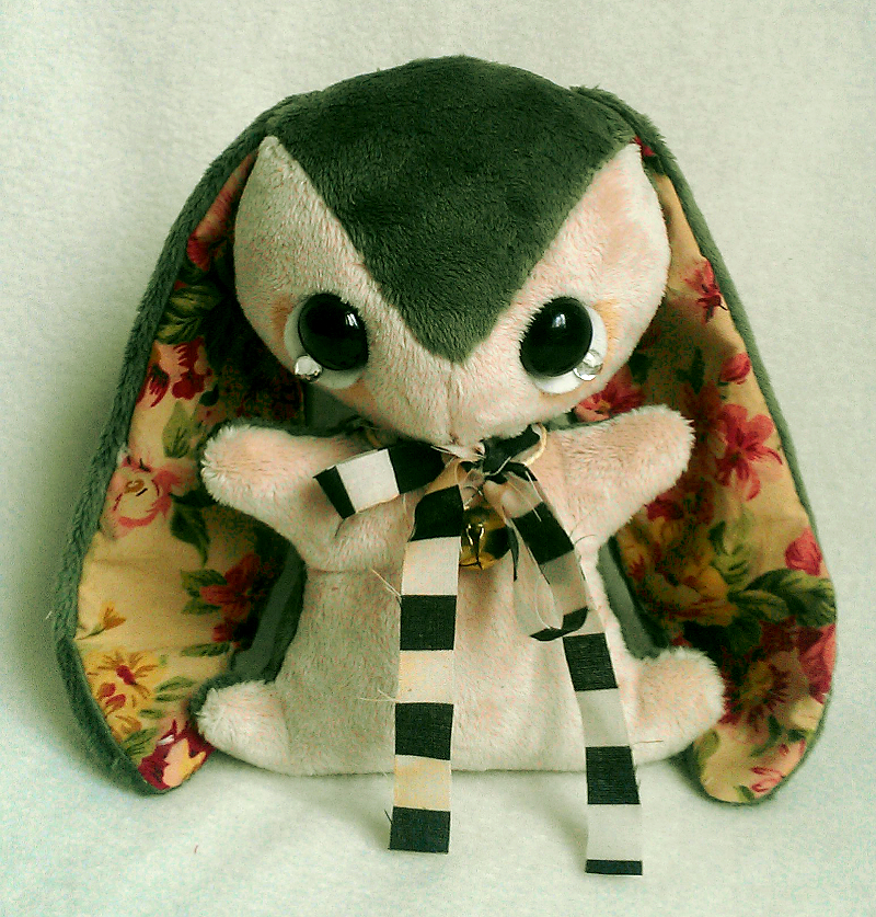 Oliver - Teacup Bunny Plush - For Sale. by tiny-tea-party