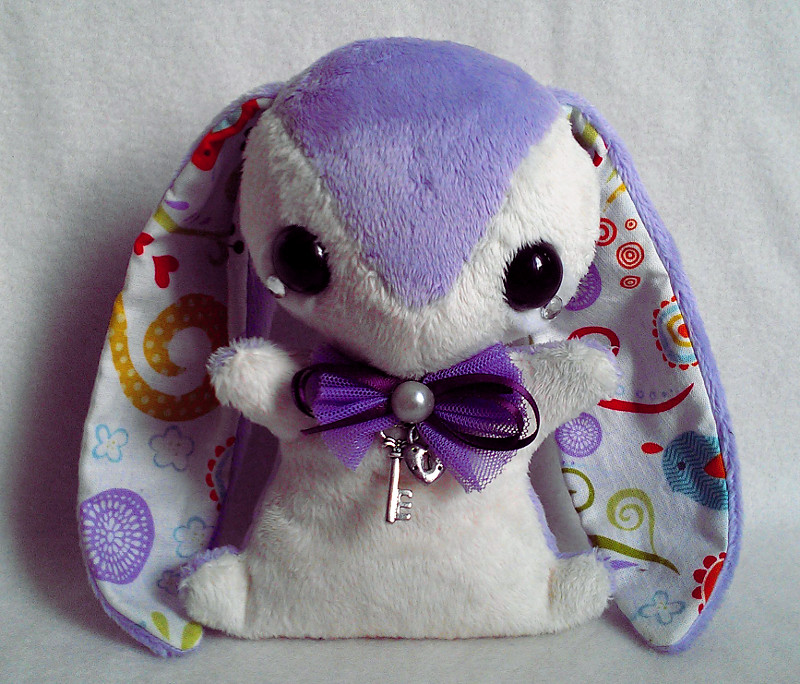 Ella - Handmade Teacup Bunny Plush - For Sale by tiny-tea-party