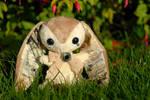 Paris - Handmade Teacup Bunny - For Sale