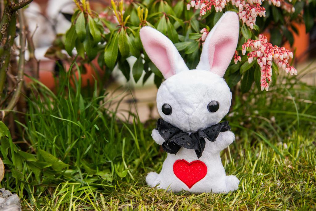 White Rabbit. by tiny-tea-party