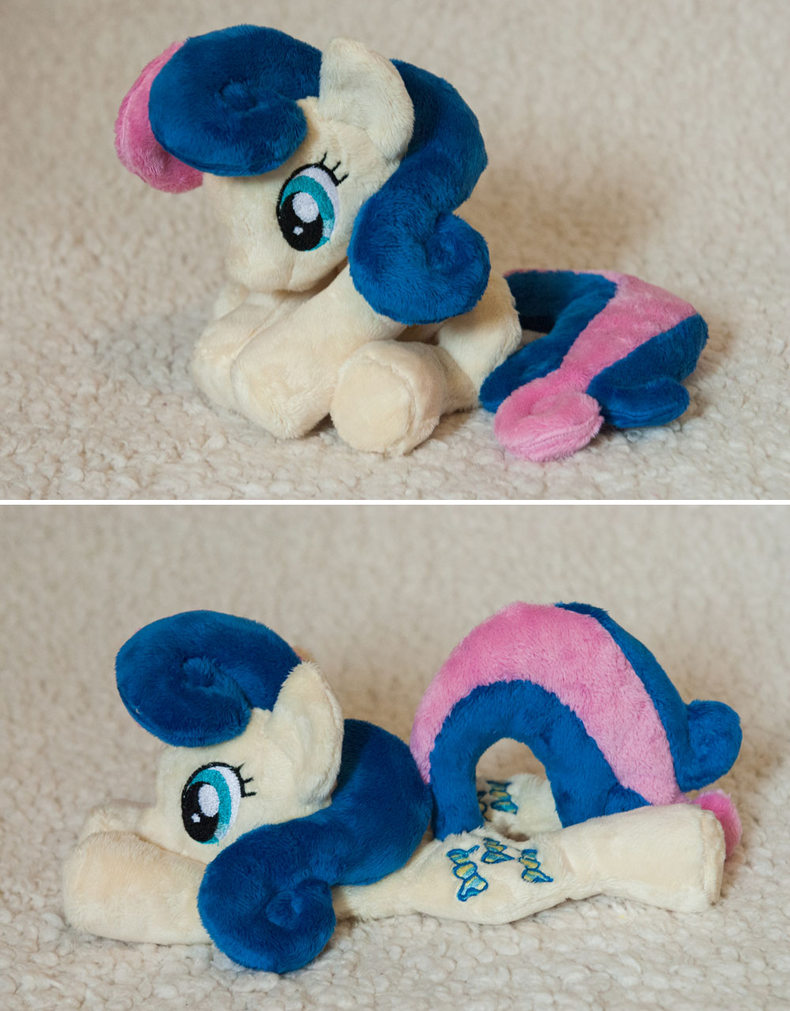 Bon Bon / Sweetie Drops Beanie Plush by tiny-tea-party