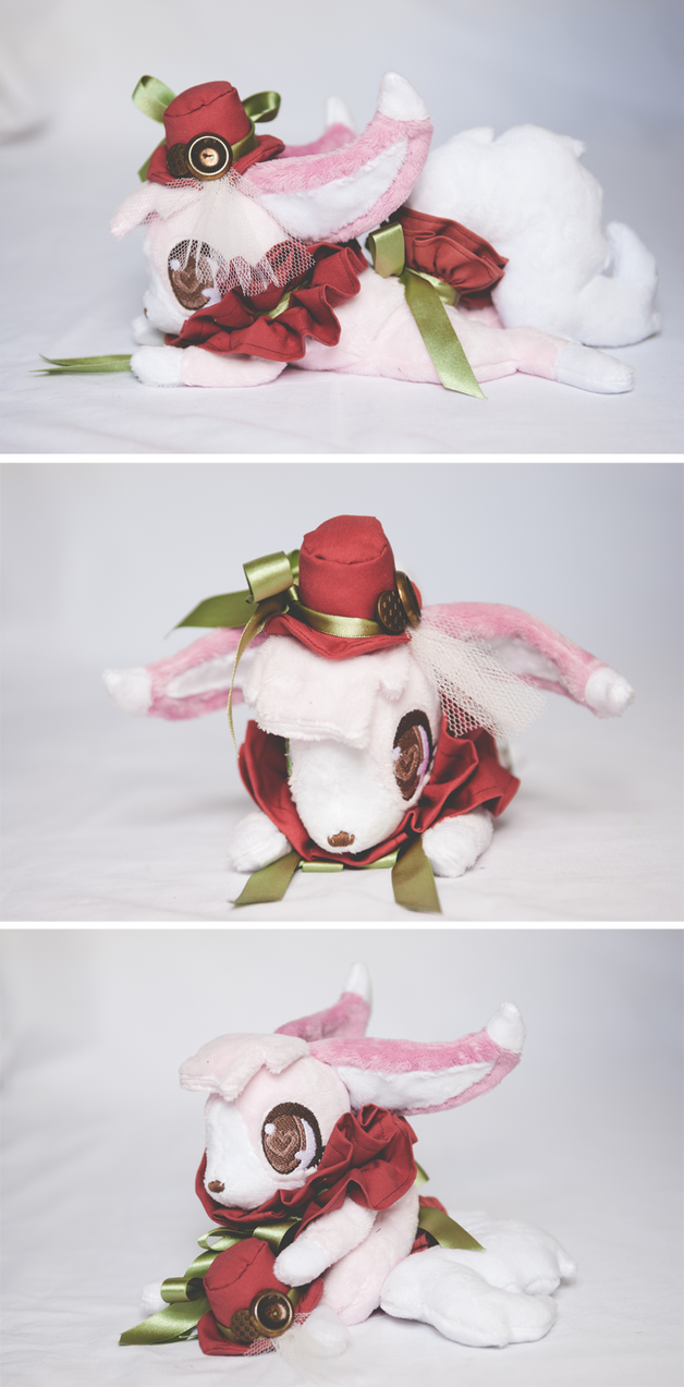 Tinker - Beanie Plush Commission by tiny-tea-party