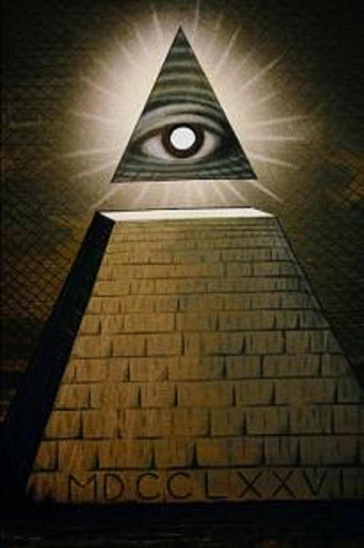 All Seeing Eye Pyramid By GreedyFreemason